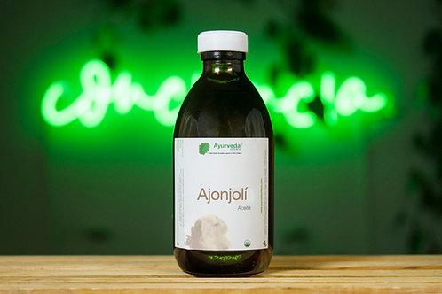 Aceite de ajonjolí prensado en frío orgánico 240ml