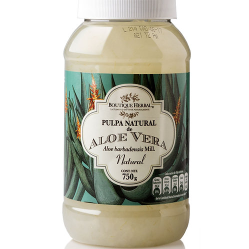Pulpa de Aloe vera Herbal Boutique 750g