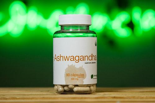 Ashwagandha orgánico de 90 cápsulas vegetales