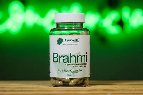 Brahmi orgánico de 90 cápsulas vegetales