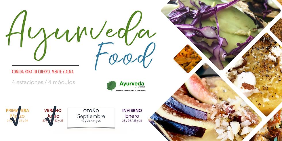 AYURVEDA FOOD/ COCINA PARA TU CUERPO MENTE Y ALMA