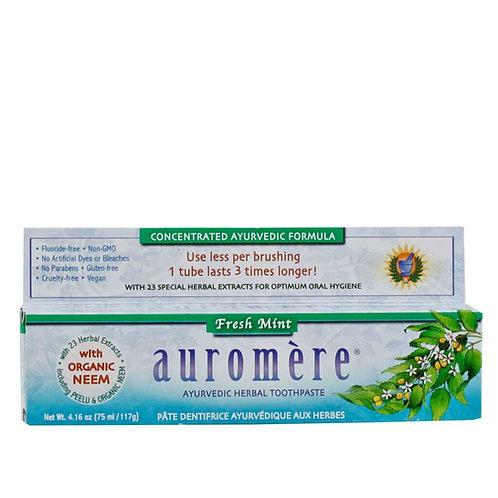 Pasta dental Auromère menta 75ml