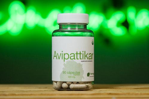 Avipattikar orgánico de 90 cápsulas vegetales