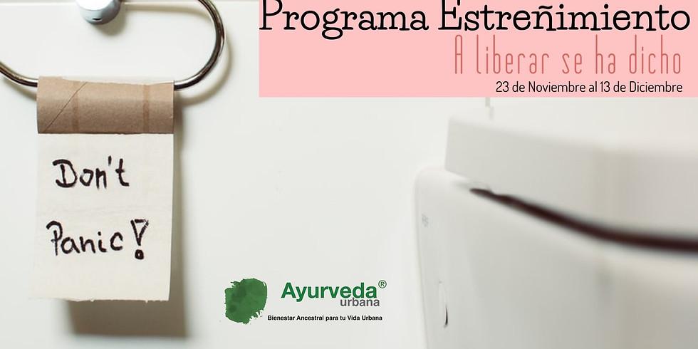 Programa Estreñimiento / A liberar se ha dicho - Otoño 2020