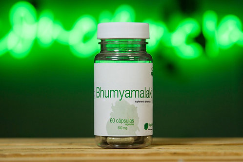 Bhumyamalaki orgánico de 60 cápsulas vegetales