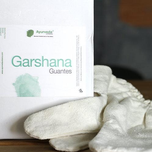 Guantes de seda cruda para Garshana