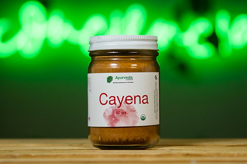 Cayena orgánica molida 80g