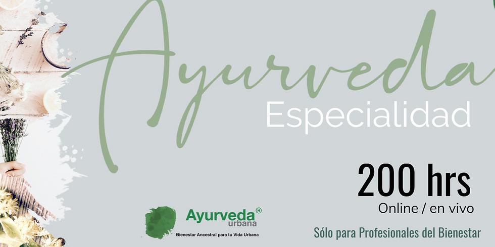 Especialidad Ayurveda