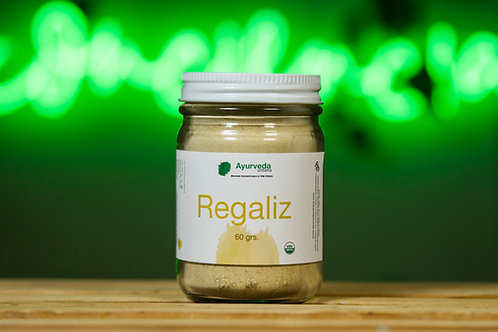Regaliz orgánico molido 60g