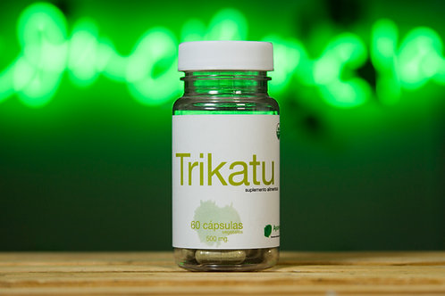 Trikatu orgánico de 60 cápsulas vegetales