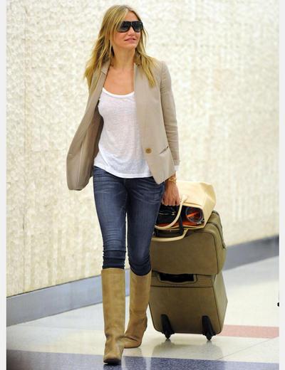 Jeans con blazer mujer