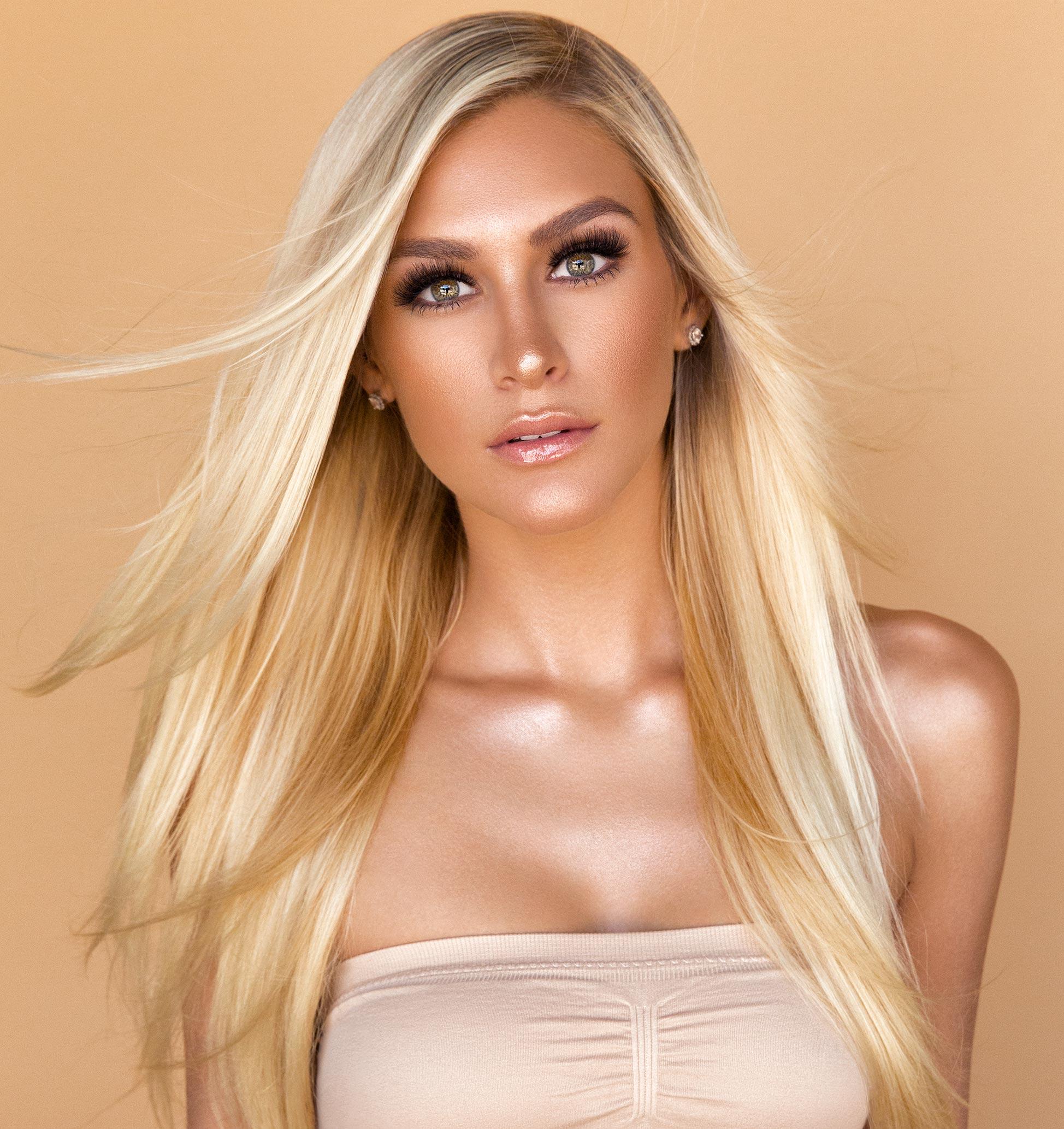 Sasa Tresses Hair Extensions Photoshoot Jessy J Dallas Beauty