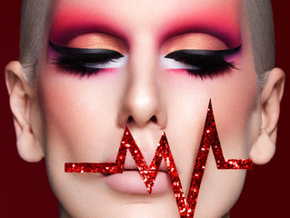 Jeffree Star Blood Sugar Palette Campaign Photoshoot - Jessy J Dallas Glamour Photographer