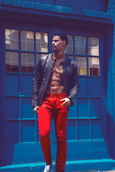 Dallas mens fashion editorial photographer