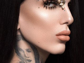 Jeffree Star Summer Chrome Campaign Photoshoot - Jessy J Dallas Glamour Photographer