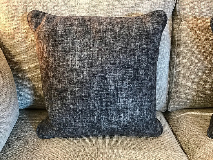Two tone grey  cushion