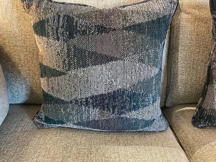 Nordic weave cushion