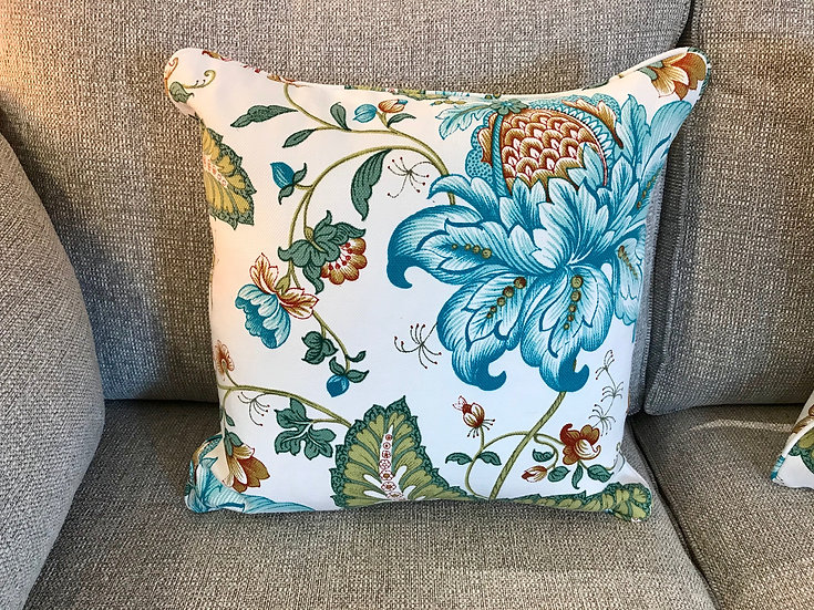 Vintage printed cushion