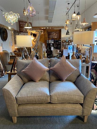 Pale Purple Velvet Cushion