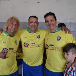Jogo dos Amigos, futebol solidário amigos do Gil Santos X Flavinho Medeiros.