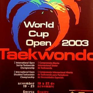 WORLD CUP OPEN TAEKWONDO 2003 - PARTE 31st INTERNATIONAL  OPEN DISABLED  TAEKWONDO  CHAMPIONSHIP.
