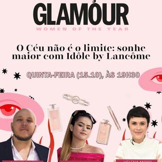 Lancôme, em parceria com a Revista Glamour lives no Instagram com Larissa Manoela, Maisa Francesca M