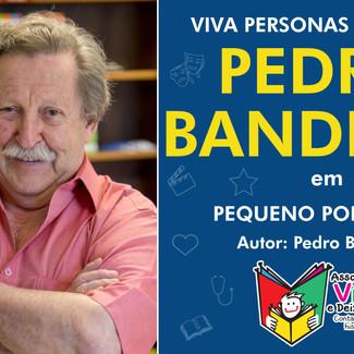 Escritor Pedro Bandeira se une ao projeto Viva Personas para alegrar crianças internadas História