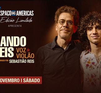 Nando Reis está de volta ao Espaço das Américas em um show especial com seus maiores hits