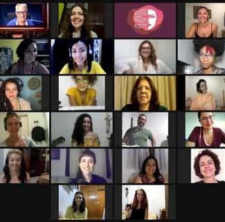 Mulheres Nascidas de um Nome encenado de 25 a 30 de março, pelo YouTube