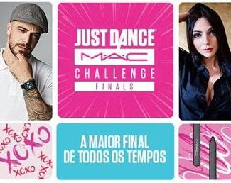 Finais do Just Dance M.A.C Challenge acontecem neste sábado, 17/10,com show de abertura do Olodum