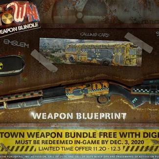 Ganhe o Pacote de Armas Nuketown gratuitamente com a compra do Call of Duty®: Black Ops Cold War