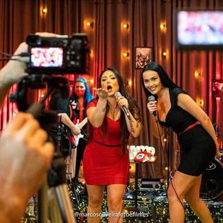 AMBER GIRLS para antecipar as comemorações do Dia da Mulher, a banda feminina faz show, dia 6