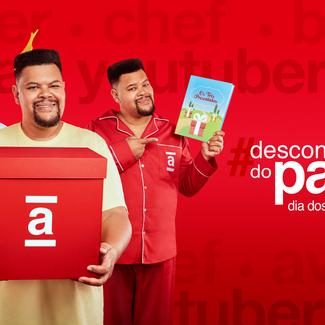 """Babu Santana estrela campanha divertida de Dia dos Pais, """"#DescontoDoPaizão"""", da Americanas"""