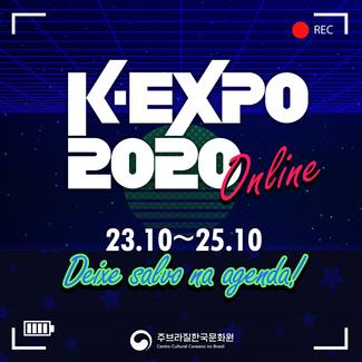 Maior Expo de cultura Coreana da América Latina tem primeira edição online do evento
