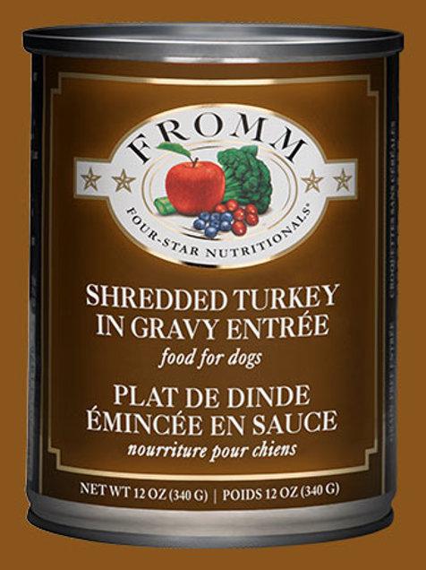Shredded Turkey in Gravy Entrée