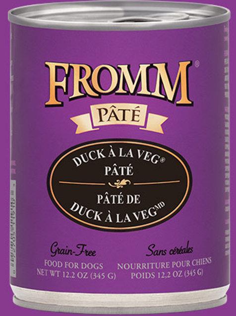 Fromm Duck À La Veg Pâté