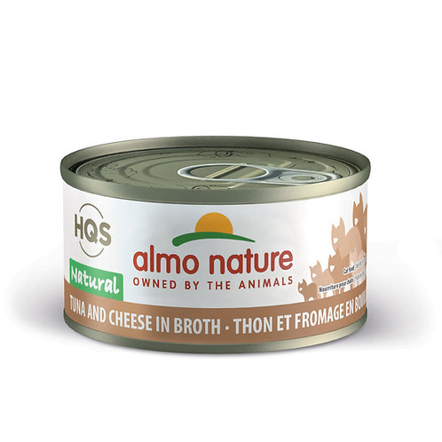 Almo Nature Tuna with Cheese in Broth