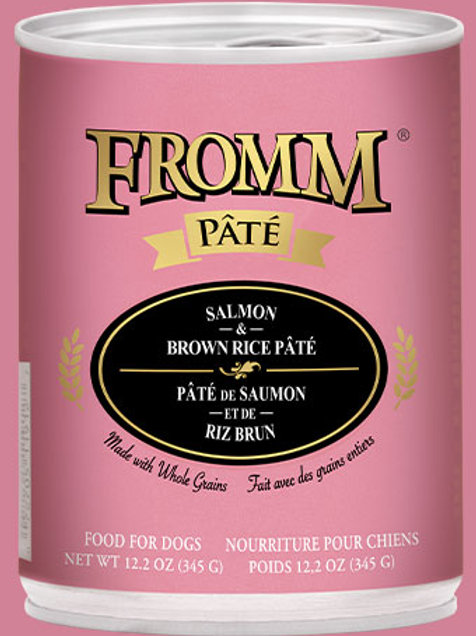 Fromm Salmon & Brown Rice Pâté