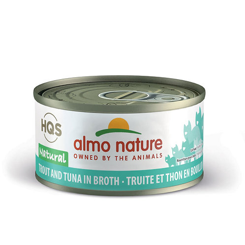Almo Nature Trout and Tuna in Broth