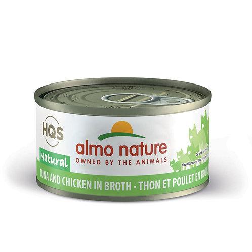 Almo Nature Tuna and Chicken in Broth