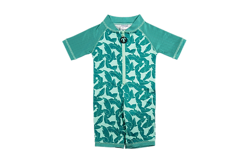 Къс бански костюм с UV защита