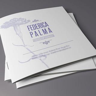 Federica Palma (brochure+logo design)