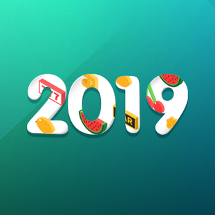 New year branded image for a casino comparison website