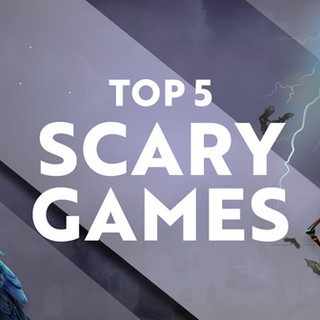 News article about scary games