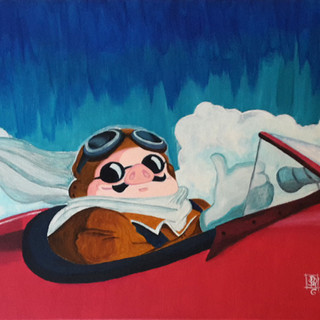 Porco Rosso (painting)