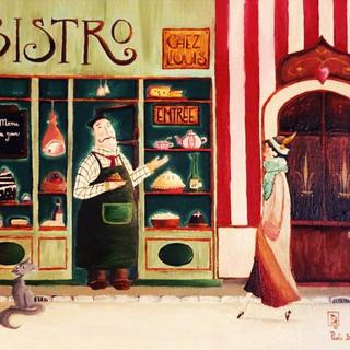 Chez Louis (painting)