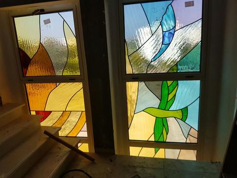 עבודה מרהיבה של בליינד'ס בבית הכנסת באשקלון