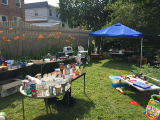 2nd Annual SOS Yard Sale Fundraiser! Sept. 1st - 2nd