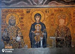Mosaic from Hagia Sophia