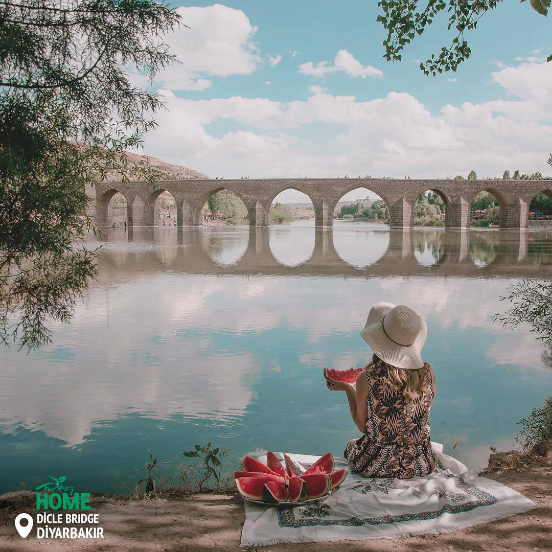 Dicle Bridge, Diyarbakır